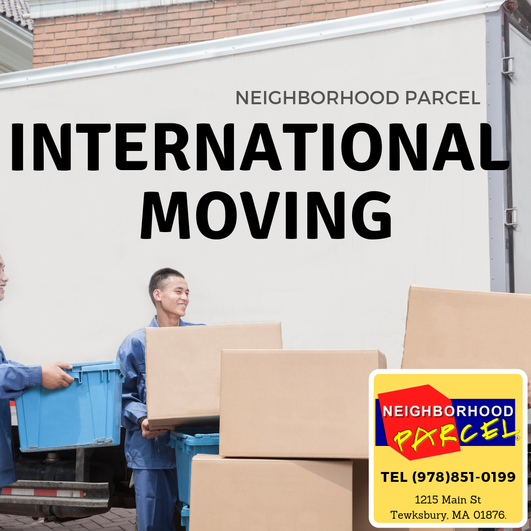 Best International Moving Rates In Boston MA