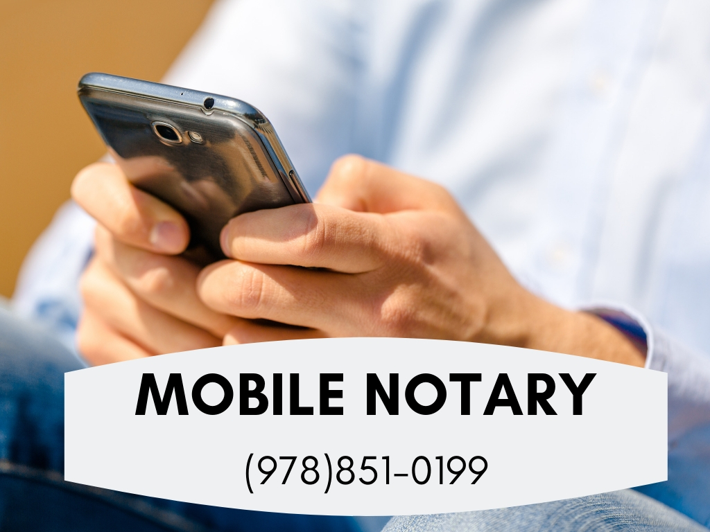 Mobile Notary Public Lowell MA