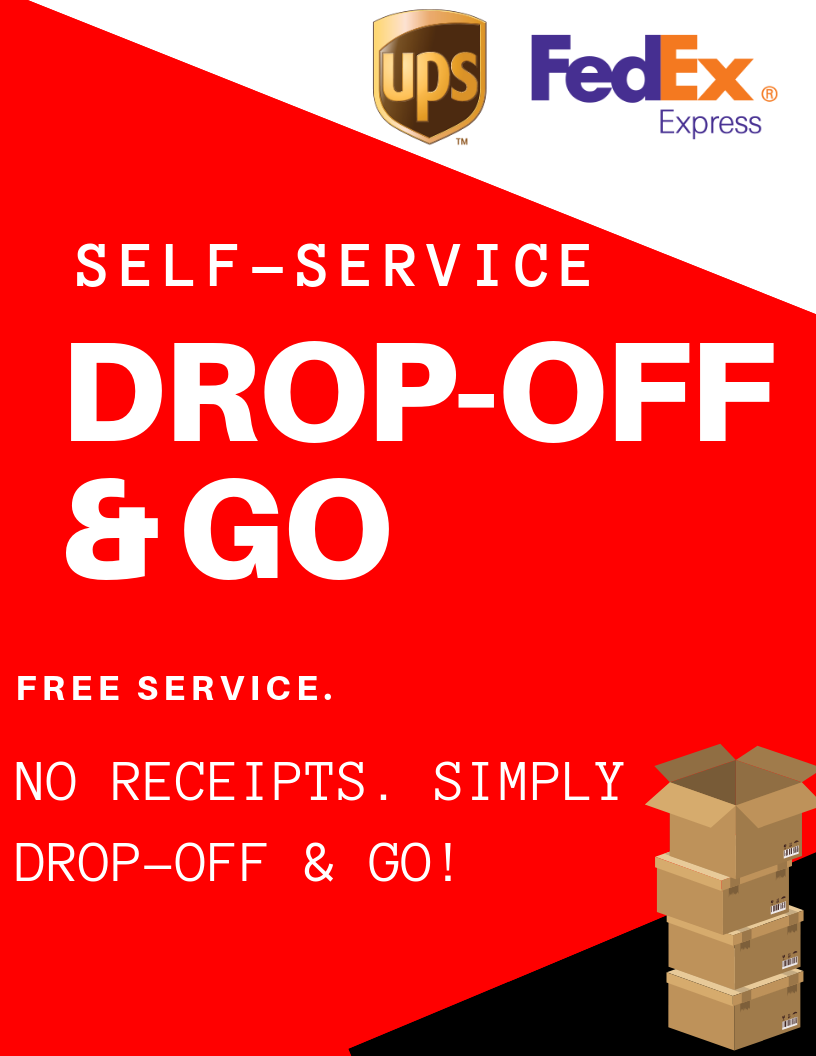 FedEx UPS Drop-off location