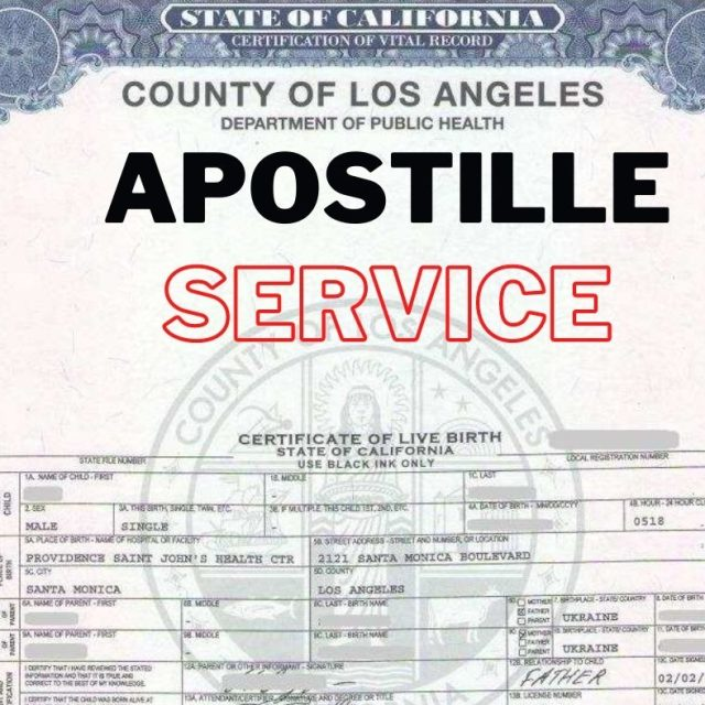 Apostille My Marriage Certificate